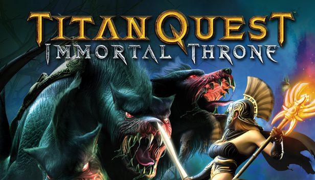 Titan quest immortal throne